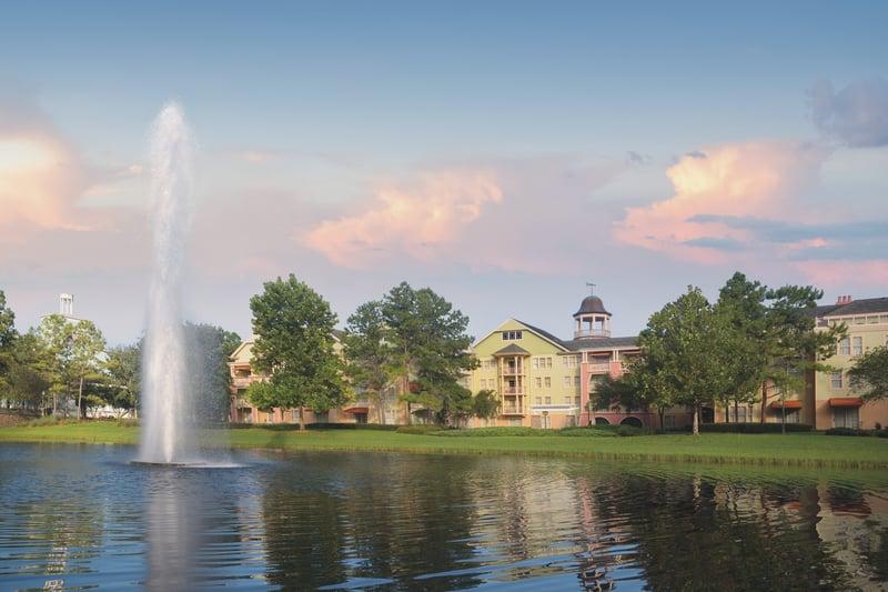 Saratoga springs - fountain